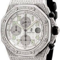 Audemars Piguet Royal Oak Offshore 42mm Diamond Set with White...