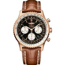 Breitling RB012012-BA49 Navitimer 01 Mens Automatic in Rose...