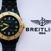 Breitling ERIC TABARLY BLACK PVD REF.80770 VINTAGE YACHT SPORT...
