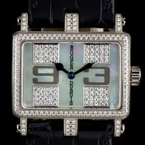 Roger Dubuis 18k W/G MOP Diamond Set Too Much T22-86 0-FD...