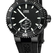 Oris AQUIS TITAN SMALL SECOND - 100 % NEW - FREE SHIPPING