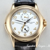 Patek Philippe Calatrava Travel Time 5134 J Gelbgold 750...