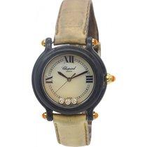 Chopard Ladies Chopard Happy Sport Diamond Watch 9064/9999