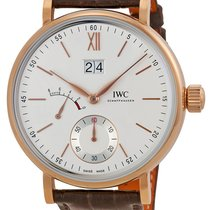 IWC Portofino Hand Wound Big Date Eight Days 45mm iw516102