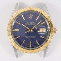 Rolex Two Tone Steel & 18k Rolex Turn O Graph Datejust...