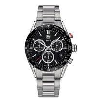 TAG Heuer Carrera 43mm Chrono Date Quartz Mens Watch Ref...