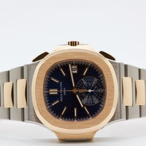 Patek Philippe Nautilus Chronograph Rose Gold And Steel
