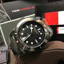Tudor Cally - 79230DK-L Heritage Black Dark PVD Leather [NEW]