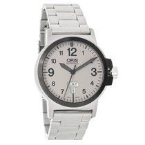 Oris BC3 Advanced Mens Gray Dial Day/Date Swiss Automatic...