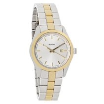 Rado Hyperchrome Ladies Two Tone Bracelet Swiss Quartz Watch...