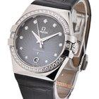 Omega Constellation Ladies 35mm Quartz with Diamond Bezel