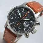 Fortis Pilot Flieger 40mm Day Date Automatic Chronograph
