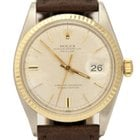 Rolex Date just Automatic 14K/SS 36mm 1601 Watch