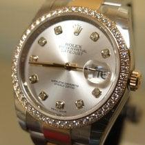 Rolex DATEJUST DIAMOND BEZEL DIAMOND DIAL REF. 116243