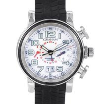 Graham Grand Silverstone Men's Stainless Steel Watch...