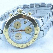 Ebel Herren Sportwave Chronograph Quartz Stahl/gold 39mm Mit...