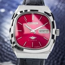 Citizen Mens Rare Automatic 21 Jewels 1970s Stainless Retro...
