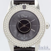 Dior Christal 28mm Stainless Steel 119 Diamonds Ladies' Watch