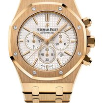 Audemars Piguet Royal Oak Chronograph 18K Yellow Gold Men'...