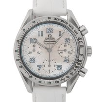 Omega Speedmaster Automatic, White Mother of Pearl Diamond Dial