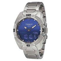 Tissot T-Touch Expert Solar Blue Dial Titanium Mens Watch...
