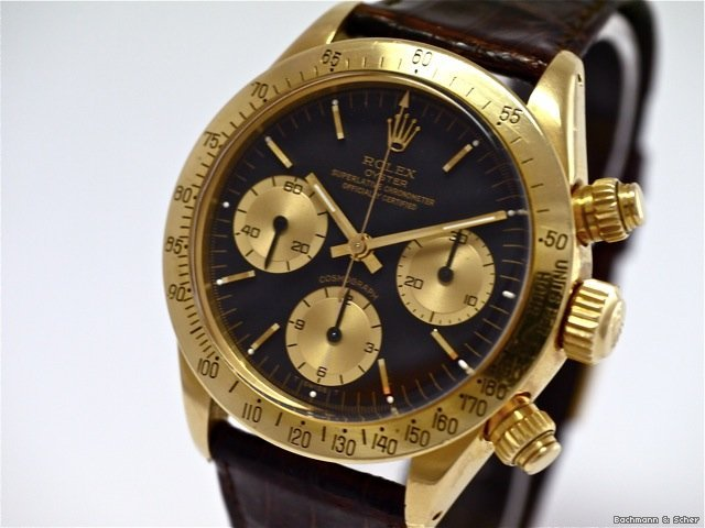 Rolex Vintage Daytona Cosmograph, Ref. 6265, 18k Yellow Gold