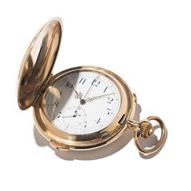 Gold Chronograph Pocket Watch With Repetition