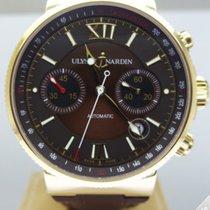 Ulysse Nardin Maxi Marine Chrono Gold - 356-66-3/355