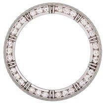 Rolex Mens Submariner Diamond Bezel In White Gold