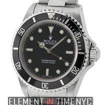 Rolex Submariner No-Date Stainless Steel  Ref. 14060