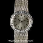 Piaget 18k W/G Diamond Bezel Dancer Ladies Wristwatch 9184 B 91