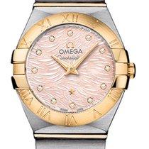 Omega Constellation Brushed 24mm 123.20.24.60.57.004
