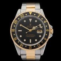 Rolex GMT-Master II Stainless Steel/18k Yellow Gold Gents 16713