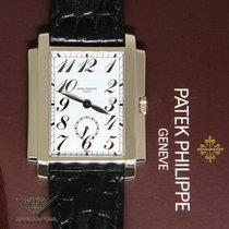 Patek Philippe 5024 Gondolo 18k White Gold Manual Mens Watch...