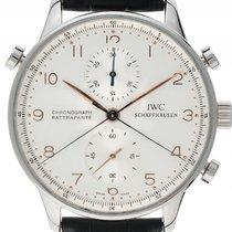 IWC Portugieser Chronograph Rattrapante Stahl Handaufzug...