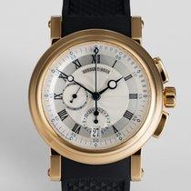 "Breguet Marine Chronograph 18ct Yellow Gold ""Box &..."