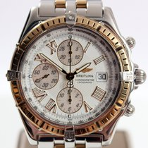 Breitling Crosswind Chronograph Gold/Steel Automatic