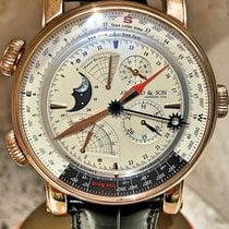 Arnold & Son true North Perpetual Rose Gold 1QPAR.S07A.C20BD