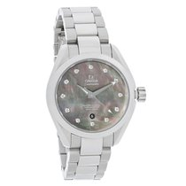 Omega Seamaster Aqua Terra Ladies Diamond Automatic Watch...