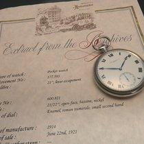 Patek Philippe, pocket chronometer in original nickel case