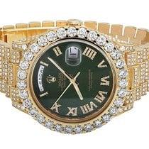 Rolex Mens Rolex Day-Date II 18k 40MM President 228238 Yellow...