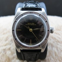 Rolex BUBBLEBACK 3372 with Glossy Tropical Gilt