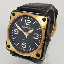 Bell & Ross Aviation 18K Rose Gold MENS Watch BR01-92