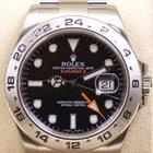 Rolex Explorer II, Ref. 216570 schwarzes ZB, LAGERND, 2014