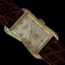 Longines 1956 VintageMens Dress, 10K Gold Filled - Hourlgass...