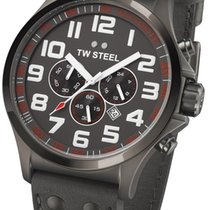 TW Steel Pilot Chrono TW-423 Herrenchronograph Sehr gut ablesbar