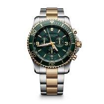 Victorinox Swiss Army Maverick Chronograph, date, green dial...