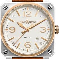 Bell & Ross BR 03-92 Steel & Rosé Gold NEU mit Box +...