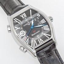 Ulysse Nardin Michelangelo Gigante UTC Dual Time Steel Watch...