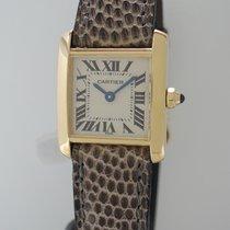 Cartier Tank Francaise Lady -Gold 18k/750 -Cartier Service neu